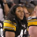 Door not closed on Polamalu playing
