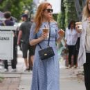 Isla Fisher at a Iced Coffee in Los Angeles May 18, 2017 - 454 x 608