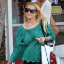 Lindsay Lohan at Fred Segal