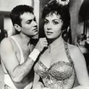 Gina Lollobrigida and Tony Curtis