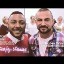 Marcus Collins (singer) and Robin Windsor - 454 x 340