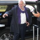 Donald Sutherland departing on a flight at LAX airport in Los Angeles, California on January 21, 2015 - 410 x 600