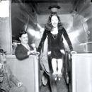 Lupe Velez with William H. Randolph of United Artists Theatre (Circa 1929)