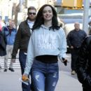 Krysten Ritter on Set of 'The Defenders' in New York 12/1/ 2016 - 454 x 803