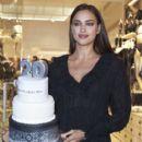 Irina Shayk Attends 'Intimissimi' 20 Year Anniversary - Store Photocall