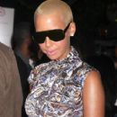 "Amber Rose Attends The Cinema Society and Target Screening of ""Good Hair"" at the IFC Center in New York City - October 5, 2009"