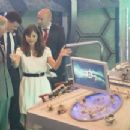 Gallery: Prince Charles and Camilla visit Doctor Who set and Matt Smith and Jenna Louise Coleman
