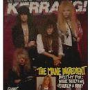 Dean Davidson - Kerrang Magazine Cover [United Kingdom] (9 December 1989)