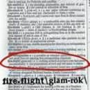 Fireflight - Glam-Rok
