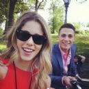 Colton Haynes and Emily Bett Rickards