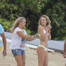 Candice Swanepoel Victorias Secret Bikini Photoshoot In Caribbean