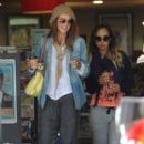 Sharni Vinson: out shopping with a friend in Cronulla