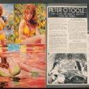 Michele Carey, Peter O'Toole - Cine Revue Magazine Pictorial [France] (1 June 1967)
