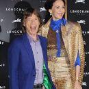 Mick Jagger and L'Wren Scott at Longchamp Regent Street Grand Opening Party - 14 September 2013
