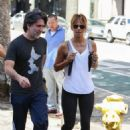 Halle Berry in Tights – Out in Los Angeles