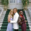 Tanya Roberts, Roger Moore, Grace Jones