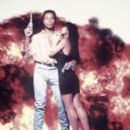 Carl Weathers and Cassandra Delaney