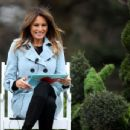 Melania Trump – 140th White House Easter Egg Roll in Washington - 454 x 346