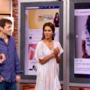 Halle Berry on Despierta America in New York - 454 x 301