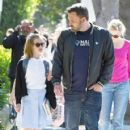 Ben Affleck was seen taking his daughter Violet out for Ice cream in Los Angeles, California on March 23, 2017