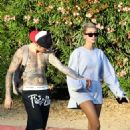 Hailey Baldwin and Justin Bieber – Out and about in Hollywood