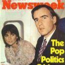 Linda Ronstadt & Jerry Brown - 454 x 609