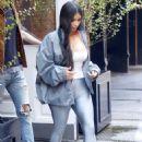 Kim Kardashian – Leaving the Mercer Hotel in New York - 454 x 660