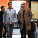 Sylvester Stallone and Jason Statham Grab Lunch in Beverly Hills - 454 x 572