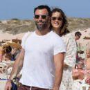 Alessandra Ambrosio and Jamie Mazur Boating While in Ibiza 7/3/2016 - 454 x 681