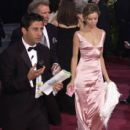 Harrison Ford and Calista Flockhart arrives The 75th Annual Academy Awards (2003)