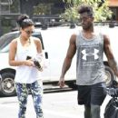 Shanina Shaik and DJ Ruckus Head To The Gym August 31, 2016 - 454 x 440