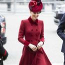 Kate Middleton – Arriving at the Commonwealth Service at Westminster Abbey - 454 x 850