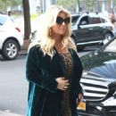 Jessica Simpson – Returns to The Greenwich Hotel in New York - 454 x 589