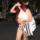 Ariel Winter in Shorts Leaving Nine Zero One in West Hollywood