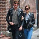 Dakota Johnson out in New York with Matt Hitt (May 3, 2016) - 454 x 717