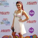Ariana Grande-Variety's 4 Annual Power Of Youth Event At Paramount Studios On October 24, 2010 In Hollywood, California
