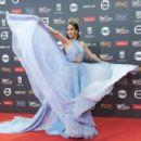 Natalia Oreiro- Platino Awards 2017- Red Carpet - 454 x 302