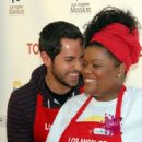 Zachary Levi and Yvette Nicole Brown - 454 x 543