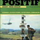 Platoon - Positif Magazine Cover [France] (April 1987)