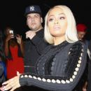 Blac Chyna and Rob Kardashian at Ace of Diamonds in West Hollywood, California - April 4, 2016 - 454 x 481