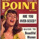 Iris Bristol - Male Point Magazine Cover [United States] (January 1957)