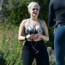 Bebe Rexha – Seen working out in Los Angeles
