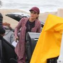Rachel Bilson – Spotted on the set of Take Two in Malibu - 454 x 714