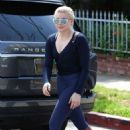 Chloe Moretz in Tights Arrives to Home in West Hollywood - 454 x 681