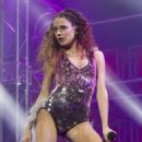 Martina Stoessel Performs at al Vistalegre Palace in Madrid - 454 x 681