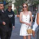 Kate Bosworth in White Dress out in New York - 454 x 678