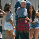 Amber Rose on the Set of 'School Dance' in Norwalk, California -  June 18, 2012 - 396 x 594