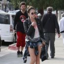 Ashley Benson and Ryan Good in Los Angeles, California (February 4)