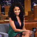 Nicki Minaj At The Tonight Show With Jimmy Fallon In Nyc