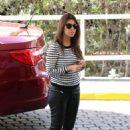 Kourtney Kardashian: picked up a friend for lunch in Miami